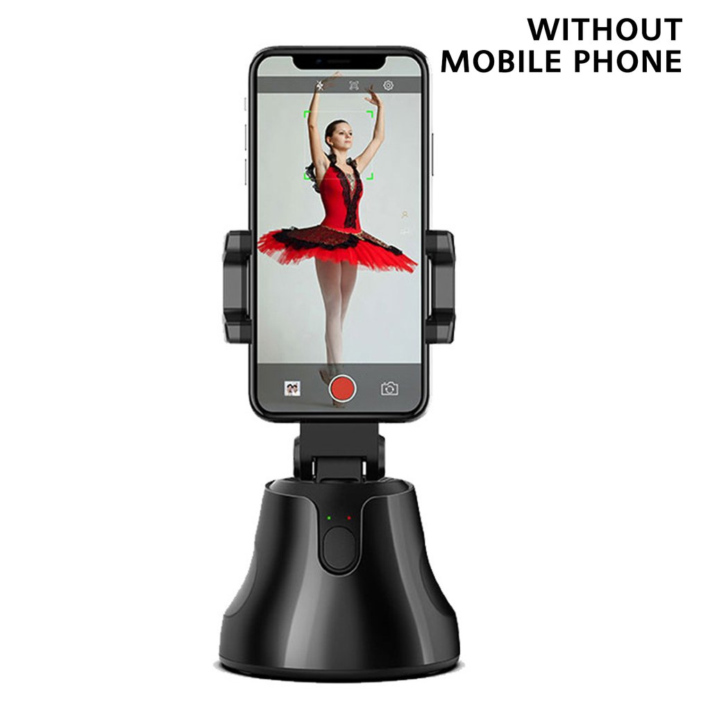 360 Degree Intelligent Tracking Stabilizer Stand Smartphone Stabilizer Object Tracking Face Recognition Smart Stabilizer