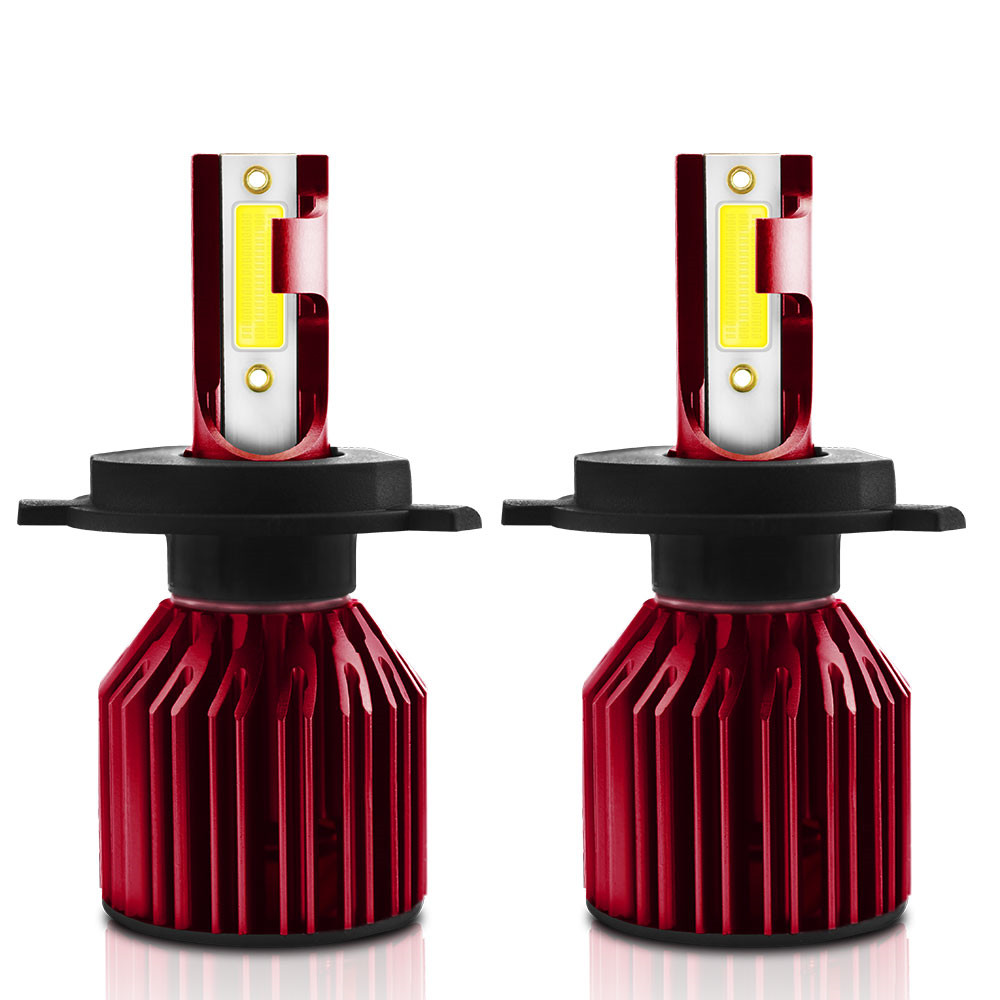 2PCS TXVS08 G4C Car Headlight Bulb Practical Durable <font><b>H7</b></font> <font><b>LED</b></font> H1 10000LM 100W 6000K White 9V-32V New Car <font><b>Head</b></font> <font><b>Light</b></font> <font><b>LED</b></font> <font><b>Lamp</b></font> image