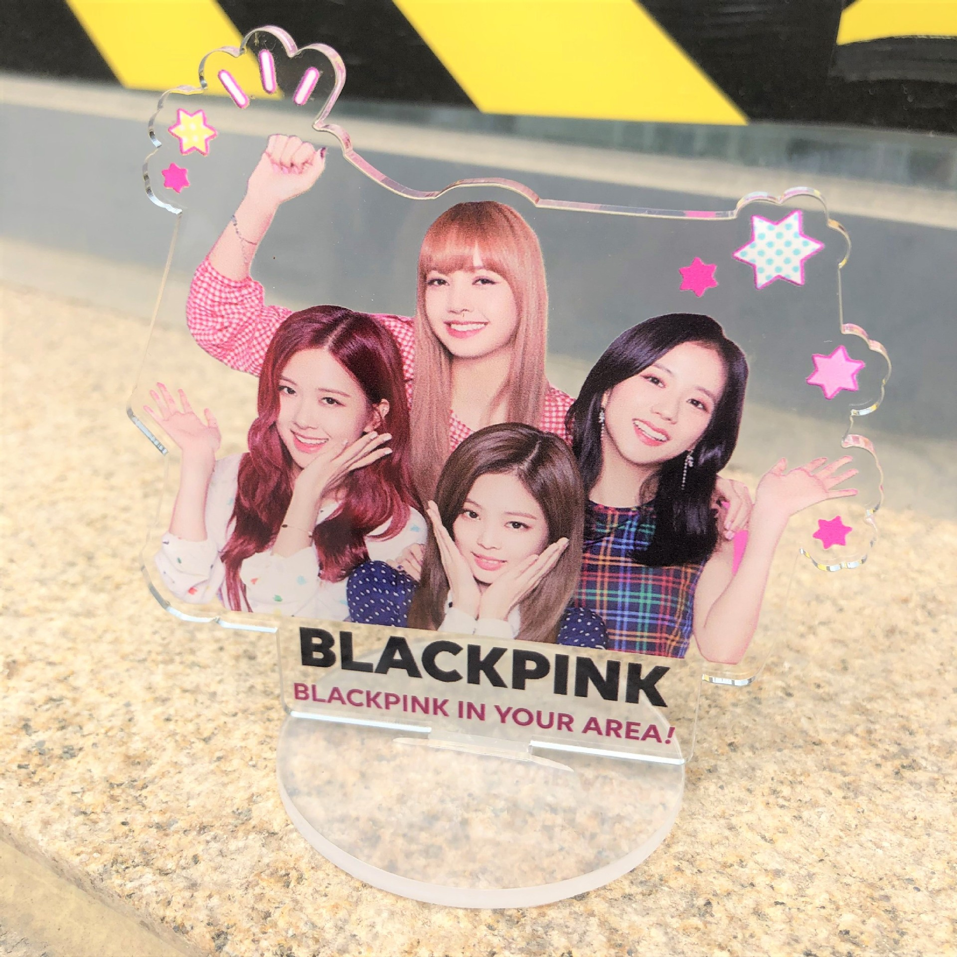 KPOP Creative Blackpink Acrylic Decorate Picture On The Table Blackpink Kpop Korean Supplies For Fans Collection