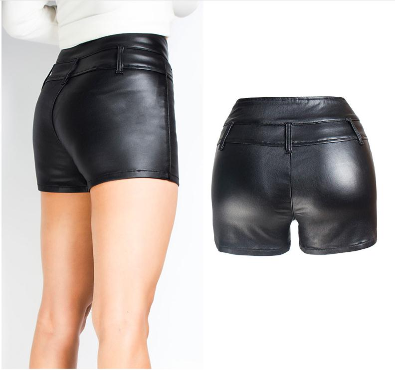 Women Sexy Mini Shorts Rivet Holes Jeans Low Waist Shorts Without Belt Ripped Denim Short 49