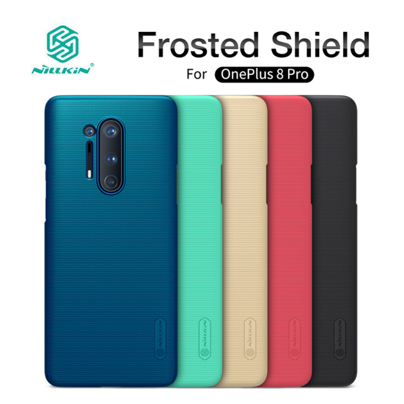 Nillkin Matte Case For Oneplus 8 Pro Case Frosted Shield Hard Back Cover For One plus 8 Pro Cases Oneplus8 Cover Coque