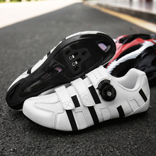Bicycle Road and Mountain Shoes Entry Level Professional Riding Road Mountain Bike Lock Shoes Men's Breathable Sports Shoes boodun breathable mountain cycling shoes leisure sports outdoor mtb road bike bicycle lock riding shoes women