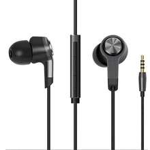 In-Ear Earphone Wired Control  With MIC Earphone Titanium Balance High Fidelity Stereo In-Ear Earphone for Xiaomi seo8 abs aluminum alloy 3 5mm plug in ear stereo earphone golden silver grey