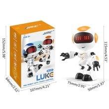 Детский мини робот с сенсорным управлением со светодиодсветодиодный