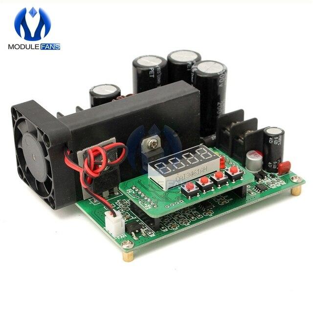DC DC BST900 0 15A 8 60 に 10 120V 昇圧コンバータ電源モジュール CC/CV led ドライバ 11 × 10 × 4.2 センチメートルステップアップモジュール