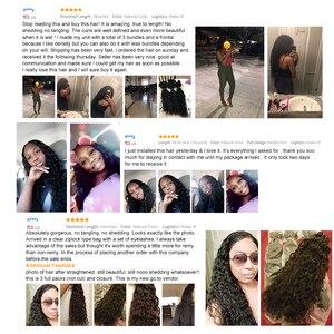 Image 5 - 28 30 นิ้ว 4 ชุดดิบอินเดียผม Water WAVE เปียกและหยัก Remy Hair EXTENSION # 1B Wonder GIRL