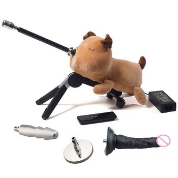FREDORCH Premium Sex Machine automatyczny ładny piesek pompujący pistolet dla kobiety masturbacja miłość maszyna Sex zabawki dla dorosłych Sex produktu tanie i dobre opinie CN (pochodzenie) Do położenia Metal wibratory