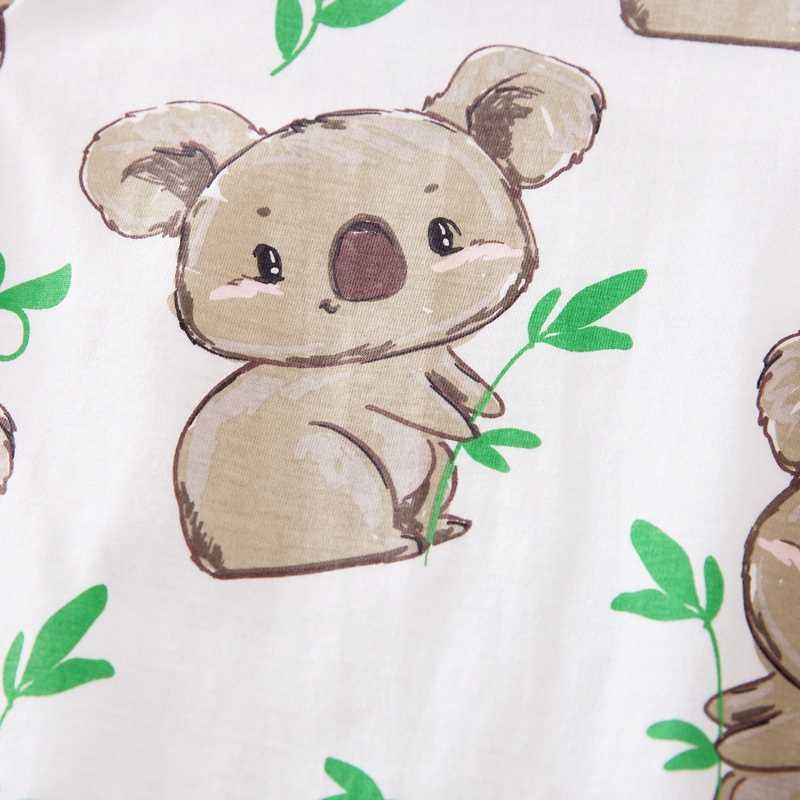 PatPat 2020 Neue Frühjahr und Herbst Baby Jungen und Mädchen Koala Druck Overall Ein Stück Auf Lager Baby Kleidung 0-1 jahre Alt