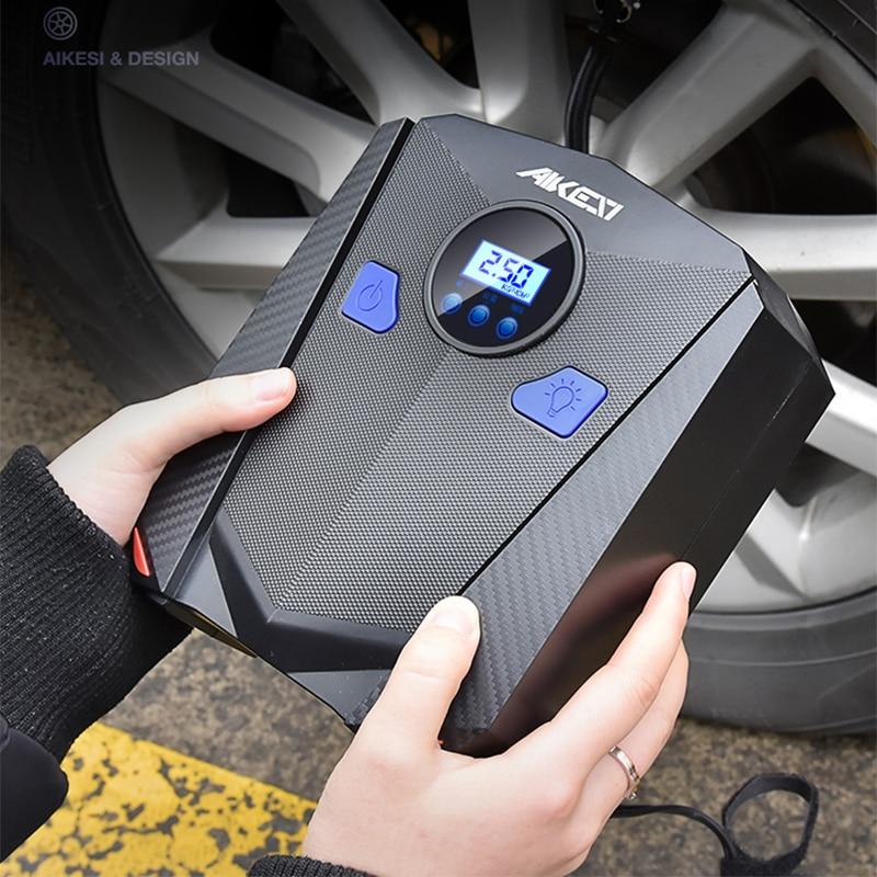 Car Tyre Inflator Air Pump Dc 12v Tire Inflator Compressor For Car 150 Psi Mini Portable Electric Infladors Digital Led Light