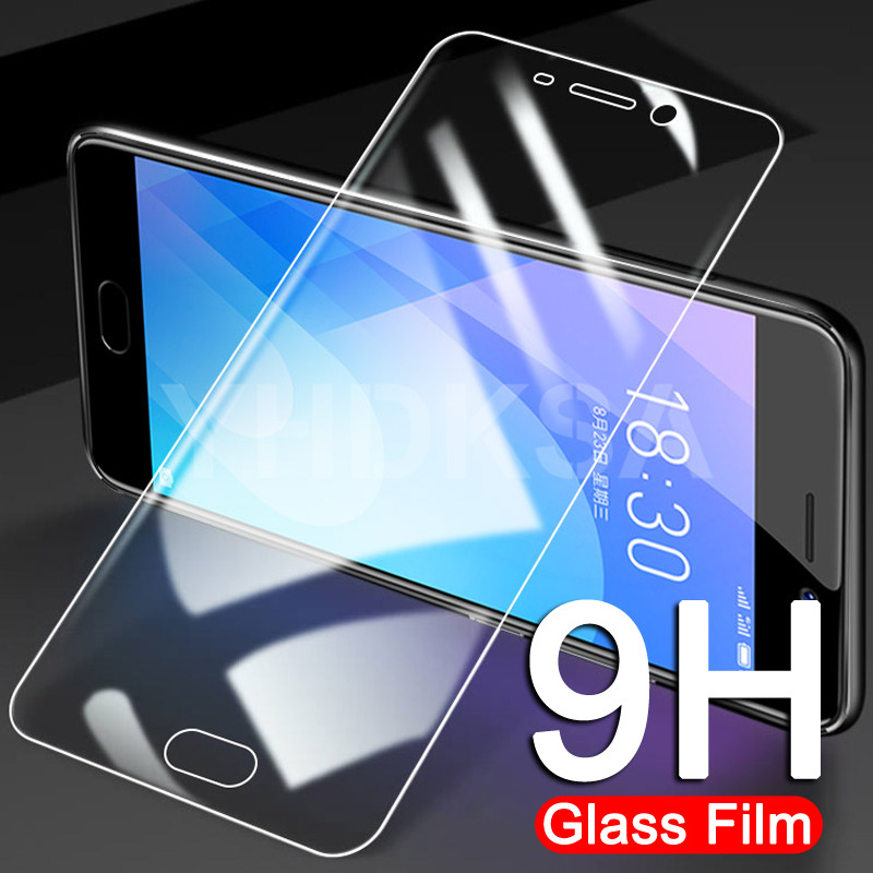 9H Protective Glass On The For Meizu M6 M5 M3 M3S Note Tempered Screen Protector For Meizu M6S M6T M5S M5C Glass Film Case