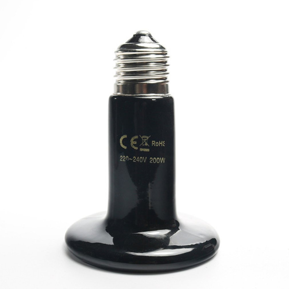 ICOCO 25W 50W 75W 100W <font><b>150W</b></font> 200W IR Heat Emitter <font><b>Bulb</b></font> Ceramic Heating Lamp For Pet reptiles and amphibians Drop Shipping Sale image