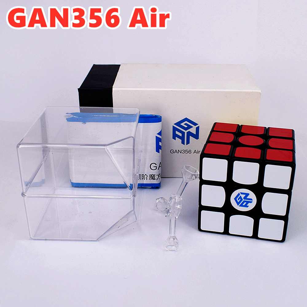 GAN356Air 3x3x3 Magic Cube GAN356 Air 3x3x3 Speed Cube GANS 3x3x3 Cube GAN 356Air SM 3x3x3 Magnetic Cube GAN356 Cubo Magico