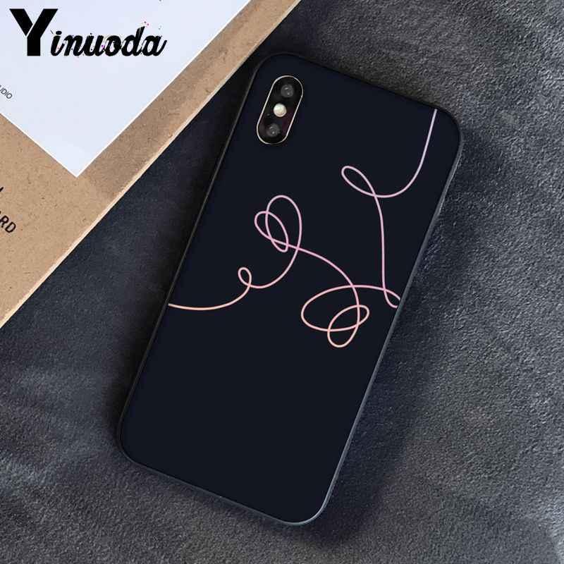 Yinuoda Für iphone 7 XSMAX Fall Liebe selbst blume TPU Telefon Fall für iphone X 8 7 6 6S Plus X 5 5S SE XR XS XSMAX