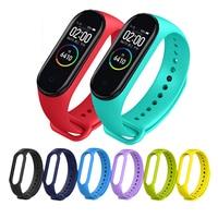 Armband für Xiaomi Mi Band 5 4 3 Sport Strap uhr Silikon handgelenk gurt Für xiaomi mi band 3 4 5 armband Miband 4 3 5 Strap