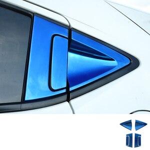 Image 5 - Paslanmaz araba arka kapı kolu kase kapağı karbon Fiber dış kapı kolu kase kapağı Trim Honda HR V HRV 2016 2018 c1019
