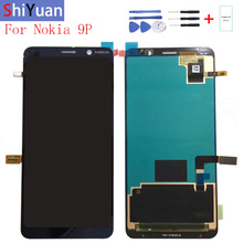 Original 5.99For Nokia 9 PureView LCD Display Touch Screen Digitizer Assembly Replacement For 9P TA-1094 A-1087 TA-1082