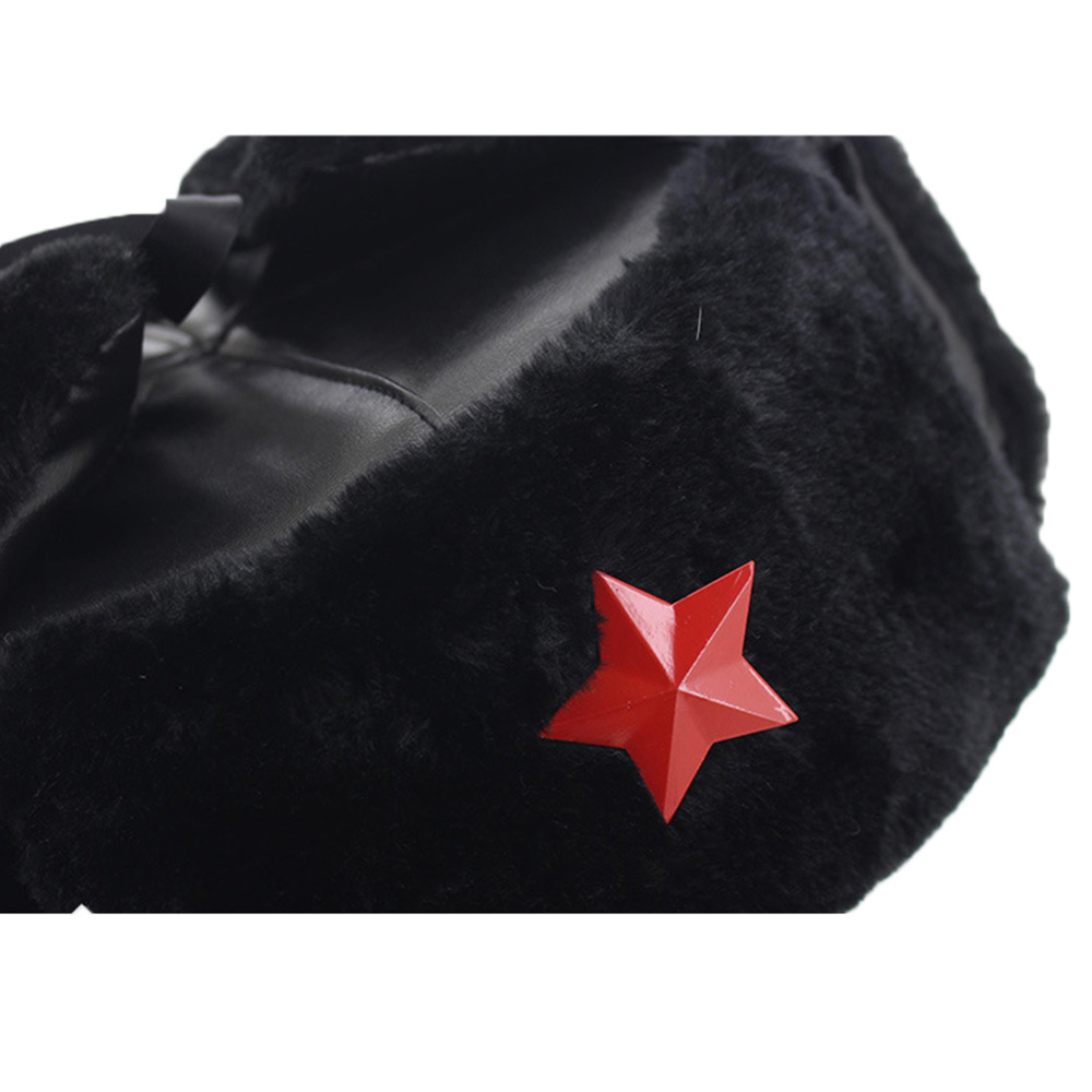 Escala 1//6 Boneco de ação da linha de alerta Tenente Do Exército Vermelho-Ushanka chapéu inverno #2