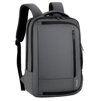 Laptop Backpack Men 15.6 Inch Usb Charging Multifunctional Waterproof Oxford Black Computer Male Backpack for man Large Capacity