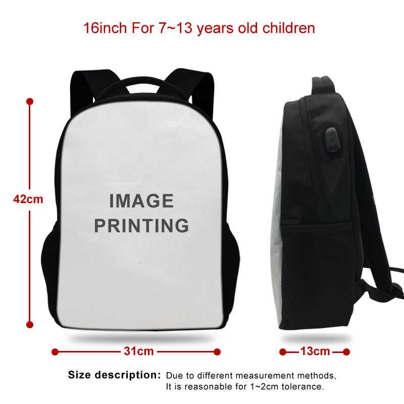 17 pollici di Film LALA LAND Zaino Del Computer Portatile Carica USB Mens Borse delle donne Zaino Per Le Ragazze Adolescenti Sacchetto di Scuola Mochila Viaggio borsa