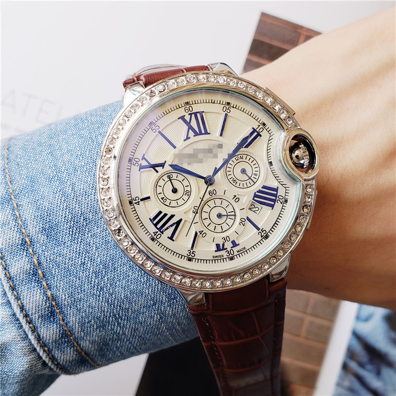 Limitde Edition Mens Watches 2020 Top Brand Luxury Reloj Hombre Quartz Automatic Wristwacth Retro Casual Dress Leather Top Gifts