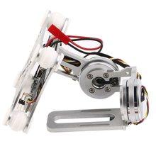 цена на Silver Fpv 2 Axle Brushless Gimbal With Controller For Dji Phantom
