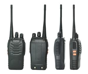 Image 5 - 2 יח\סט baofeng BF 888S מכשיר קשר נייד רדיו תחנת BF888s 5W BF 888S Comunicador משדר משדר רדיו סט
