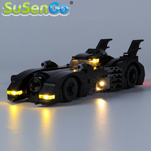 цена на SuSenGo LED Light kit For 1989 Batmobile Limited Edition Building Blocks Lighting Set Compatible with 40433 (Model Not Included)