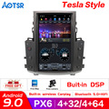 13.6 inch Android 9.0 Tesla style Car GPS Navigation Auto No DVD Player For Lexus LX570 radio tape recorder head unit multimedia