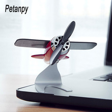 Home Decoration Aromatherapy airplane decoration Non-slip mat alloy Solar energy Rotate aircraft funny Kid Gift