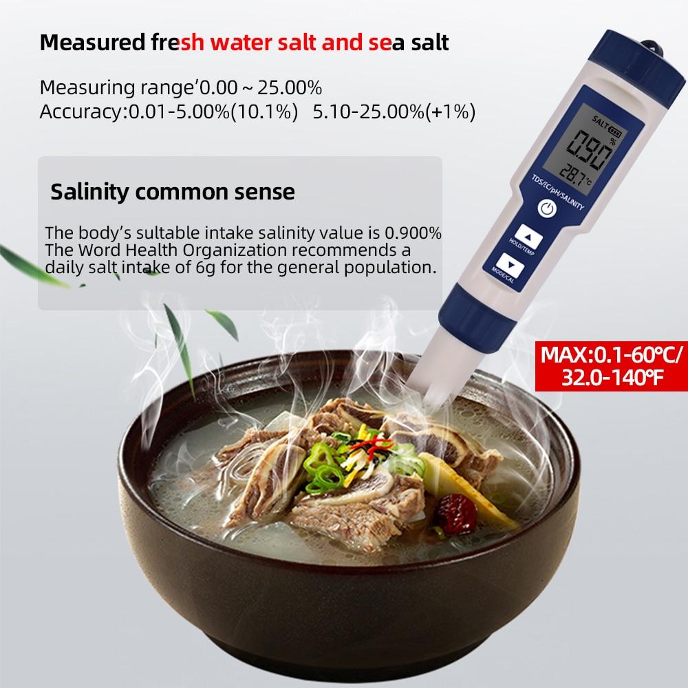SKU-PH111-9909 5合1ph测试-盐度