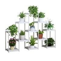 Airs متعدد الطوابق داخلي المنزلية غرفة المعيشة حامل زهور أسود العائمة نافذة الجرف شرفة الأخضر لو الزهرية رفوف-في رفوف النبات من الأثاث على