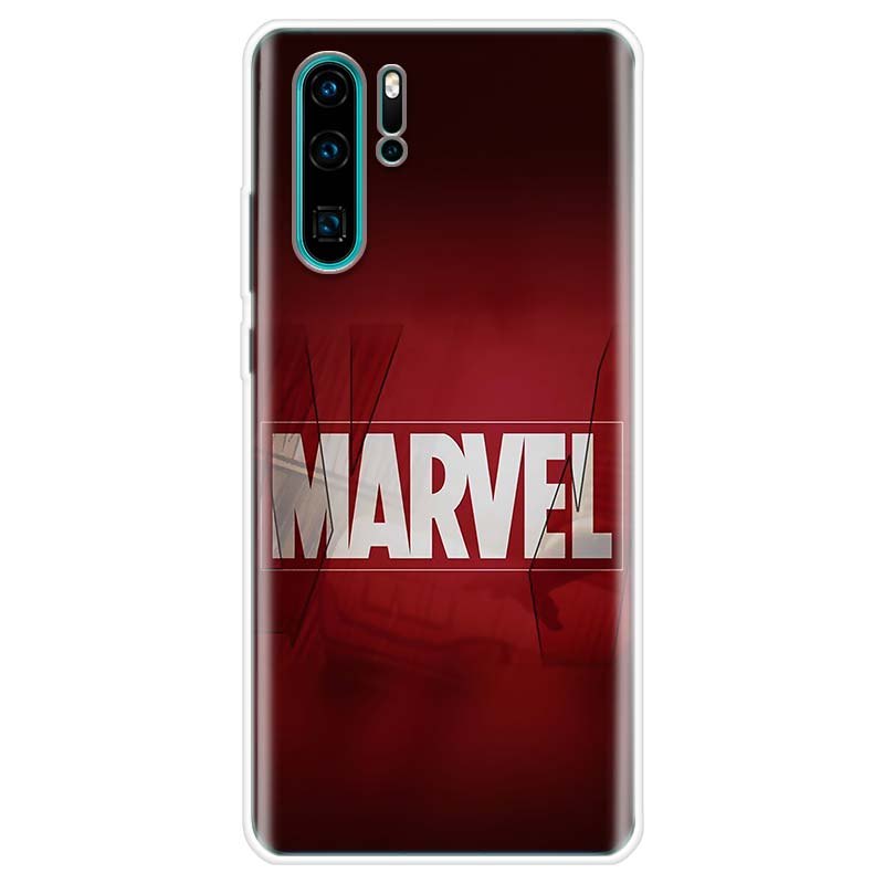 Deadpool Iron Man Marvel Avengers Case For Huawei P20 P30 P40 P10 Mate 30 10 20 Lite Pro P Smart Z 2018 2019 Pattern Phone Coque