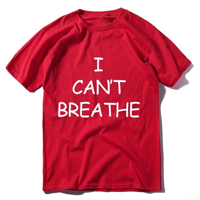 I Can't Breathe T-Shirt in Memory of George Floyd - 100% Cotton 2