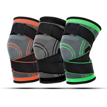 цена на 1 Pcs  Joints Protector Knee Support Kneepad Pressurized Elastic Knee Brace Knee Pads for Running Basketball Fitness rodilleras
