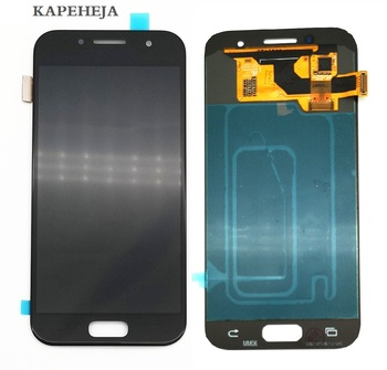 Super AMOLED LCD Display For Samsung Galaxy A3 2017 A320 A320F LCD Display Touch Screen Digitizer Assembly lcd display lm24p20 lm64p70 lm64p58 lm32k10