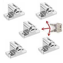 5 Pcs Same key locks Zinc Sliding Window Patio Screw Door Locking Pin Push Child Safety Lock J24 drop shipping