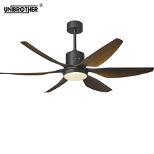 66 inch 54 inch Nordic industrial wind ceiling fan fans LED light DC American retro remote restaurant living room remote control 56 in industrial ceiling fan forward reverse 18 indownrod 120v white