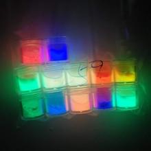 Acrylic-Dip-Powder Neon Glow-In-The-Dark Glow-Dips 12-Colors 10g Ghtr4543 Night-