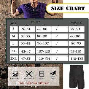 Image 5 - גברים בטן בקרת מכנסיים גבוהה מותן הרזיה תחתוני גוף Shaper חלקה בטן מחוך תחתון בוקסר גברים Shapewear