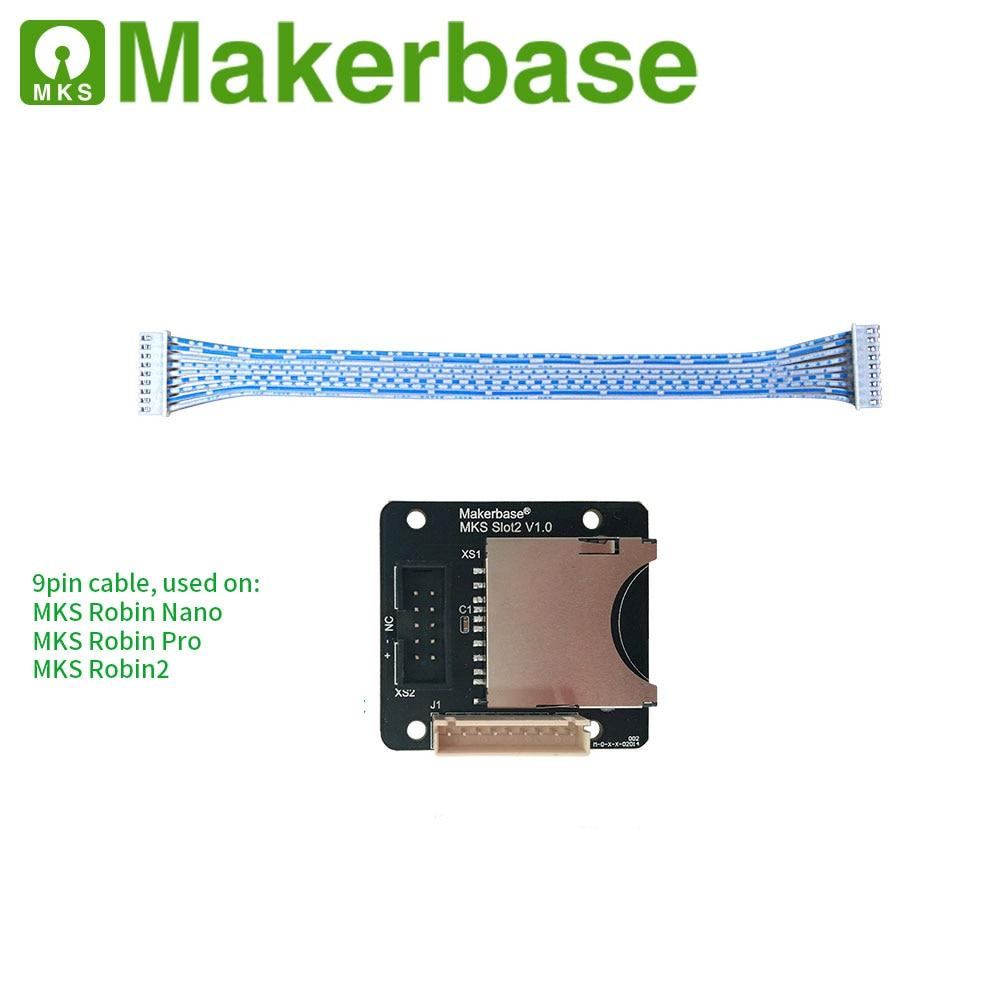 Makerbase MKS SLOT2  SD External Card Reader For MKS Robin Nano/Pro MKS Robin2  Sd Extension Module