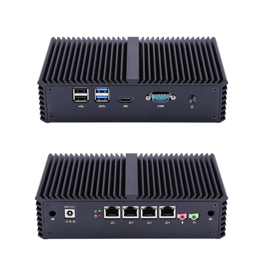 Nouveau Micro ordinateur sans ventilateur X86 4 LAN I5 5200U double coeur à bord. Prend en charge la vidéo HD AES NI.1080P-in Mini PC from Ordinateur et bureautique on AliExpress - 11.11_Double 11_Singles' Day 1