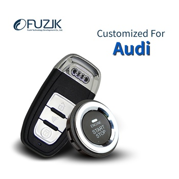 Fuzik Keyless Go Smart Key Keyless Entry Remote start Push Botton for AUDI Q3 A3 Q2L