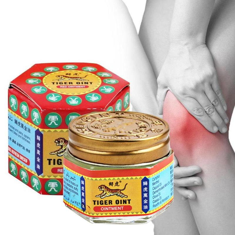 100% Original Red Tiger Balm Ointment For Headache Toothache Stomachache Painkiller Muscle Relieving Soothe Itch