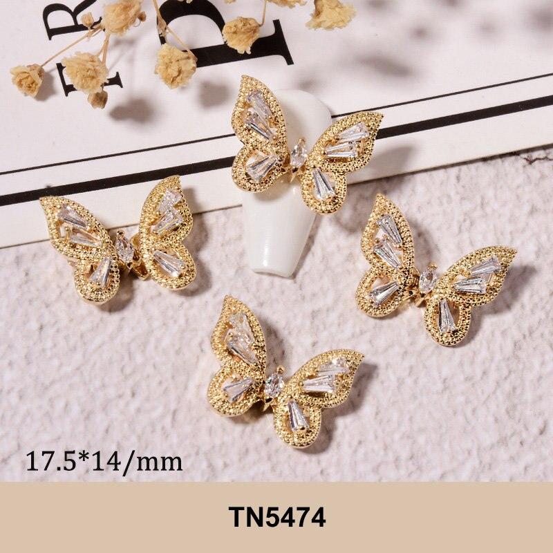 arte do prego cristais strass decorações encantos