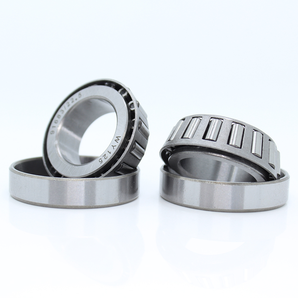 91683 Pressure Bearing 91683/22.5 ( 1 PC ) + 91683/24 ( 1 PC ) = Total ( 2 Pcs ) ABEC-1 Taper Roller Steering Bearings