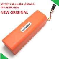 Новая Оригинальная запасная батарея для пылесоса XIAOMI ROBOROCK S50 S51 S55 Mijia Gen 1st аксессуары Запчасти