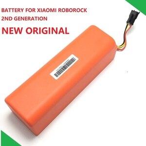Image 1 - Neue Original Ersatz Batterie für XIAOMI ROBOROCK Staubsauger S50 S51 S55 Mijia Gen 1st Zubehör Teile