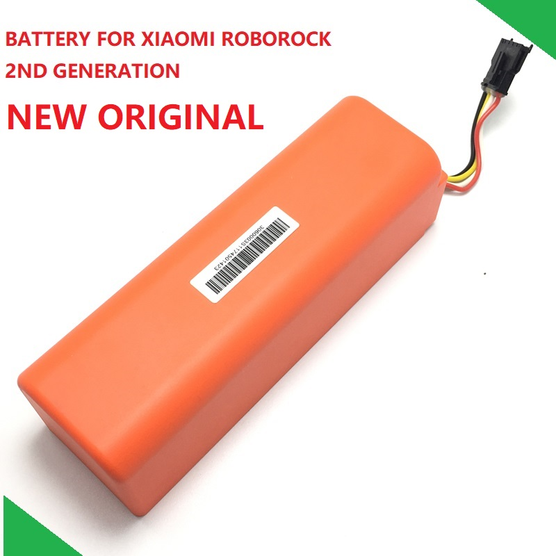 New Original Replacement Battery For XIAOMI ROBOROCK Vacuum Cleaner S50 S51 S55 Mijia Gen 1st Accessory Parts
