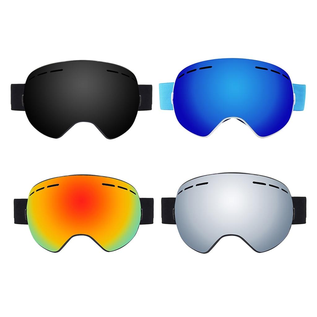 Ski Goggles Anti-fog Spectacles Snowboard UV Protect Over Glasses
