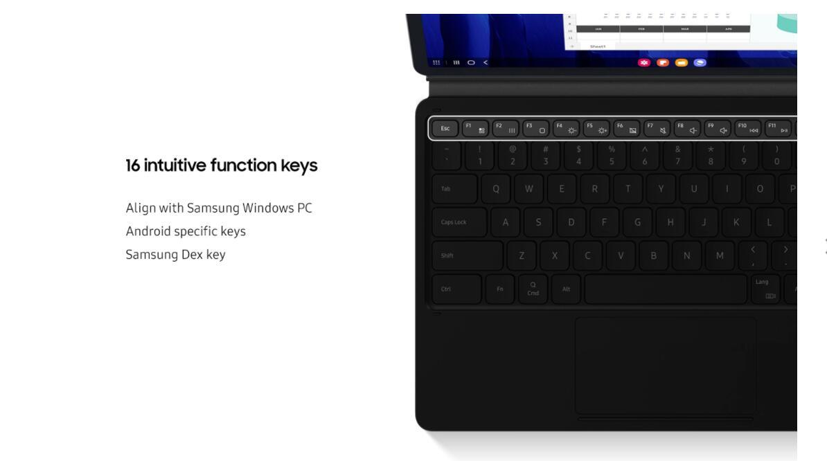 teclado para galaxy tab s7 11 polegada